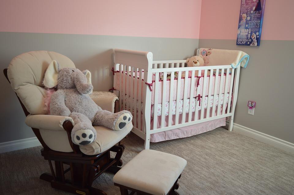 Chambre d'enfant amenagée