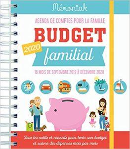 couverture d'un budget familial à imprimer