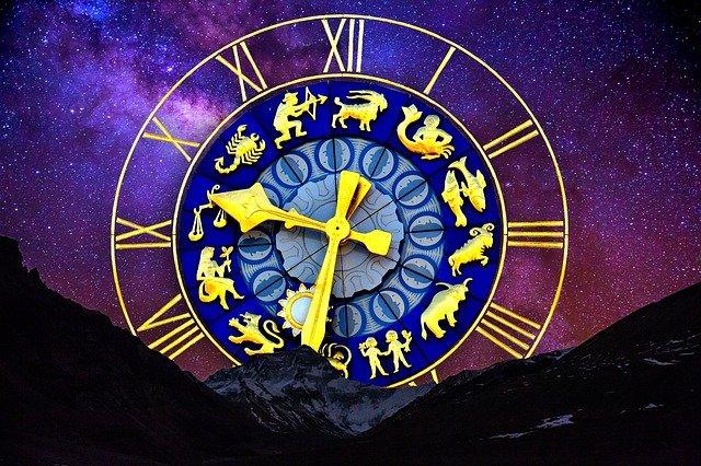 pendule de signes astrologiques